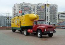 """""""Желтая подводная лодка"""" - передвижной морской музей-лаборатория"""