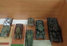 Миниатюрная бронетехника Военной академии Республики Беларусь