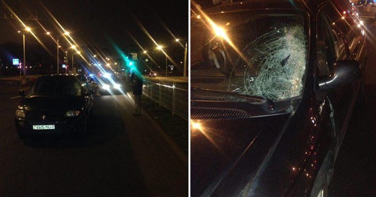 Смертельный наезд на пешехода в Минске