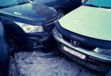 В Малиновке женщина-водитель разбила пять автомобилей