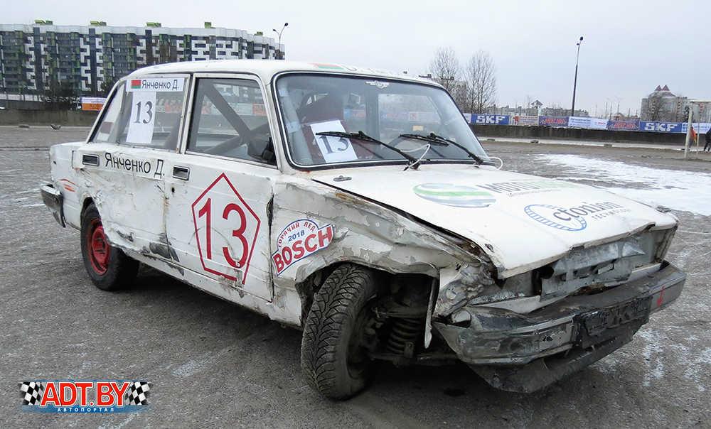 Последствия столкновения для автомобиля Янченко оказались печальными