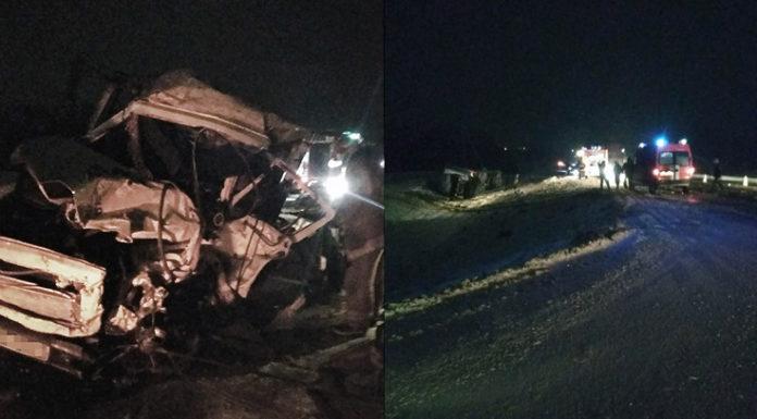 Под Витебском лоб в лоб столкнулись два грузовика