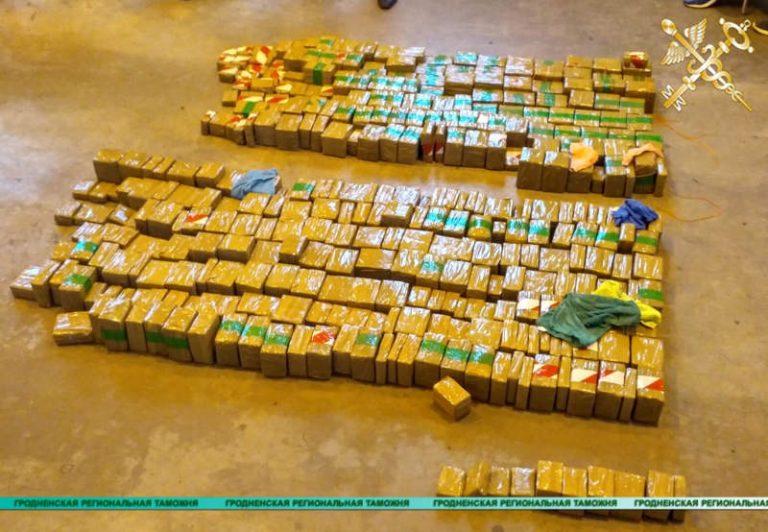 В прошлом году Гродненская таможня пресекла ввоз более 375 кг наркотиков