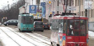 В Минске на реконструкцию закроется трамвайная линия