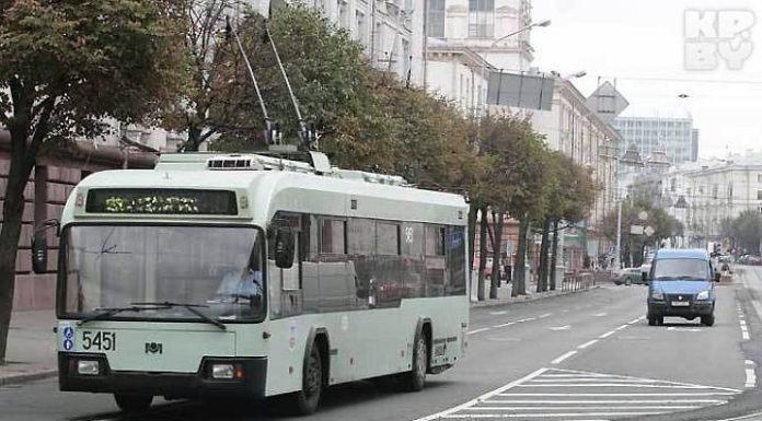 будет закрыто троллейбусное движение