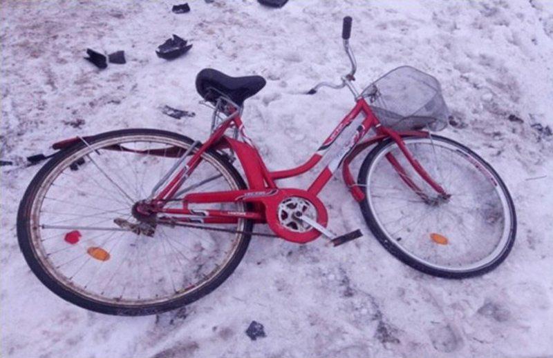 В Барановичском районе сбита велосипедистка. ГАИ разыскивает очевидцев.