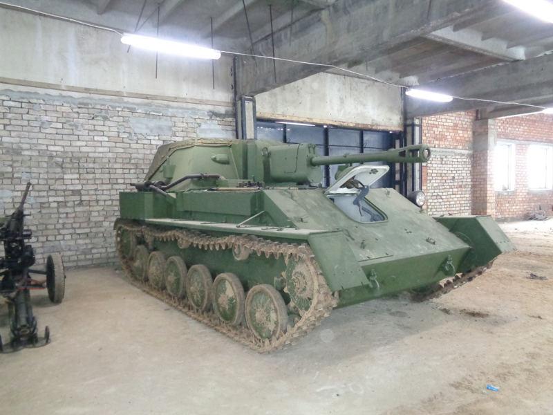 Советская самоходка СУ-76