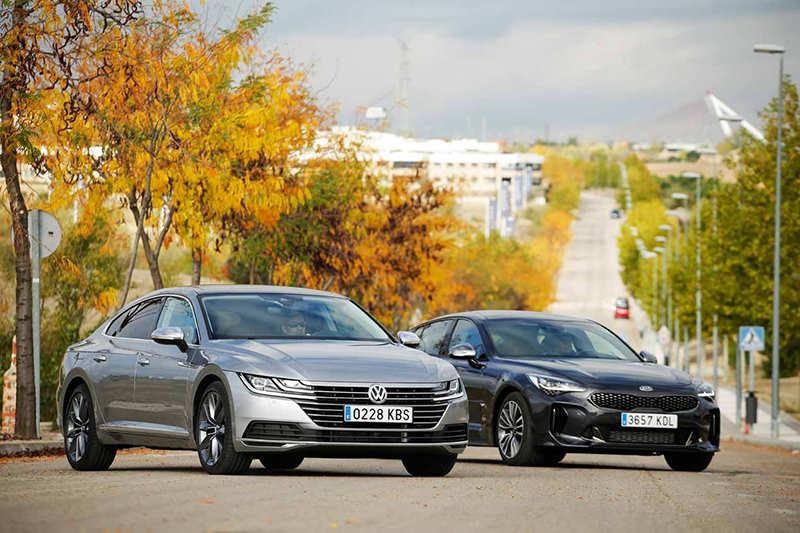 Kia Stinger и Volkswagen Arteon