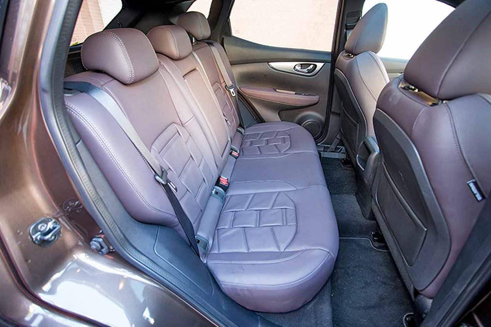 Заднее сиденье Nissan Qashqai