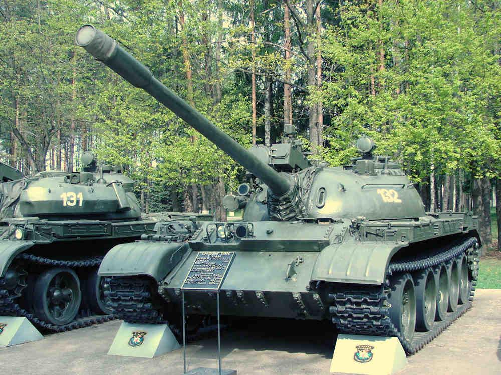 Т-54АМ образца 1977 г.