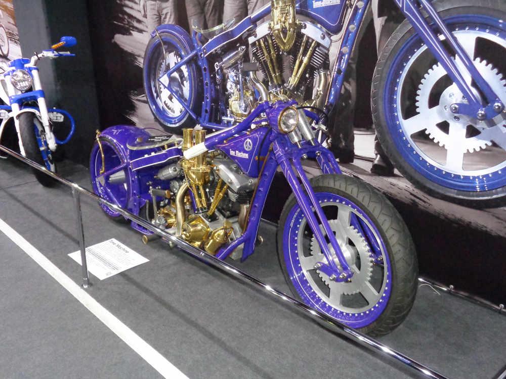 Выставка эксклюзивных мотоциклов мастерской SHIF CUSTOM
