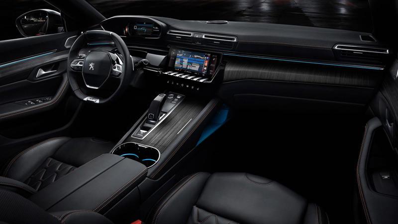 Новый Peugeot 508 выйдет на охоту в сентябре