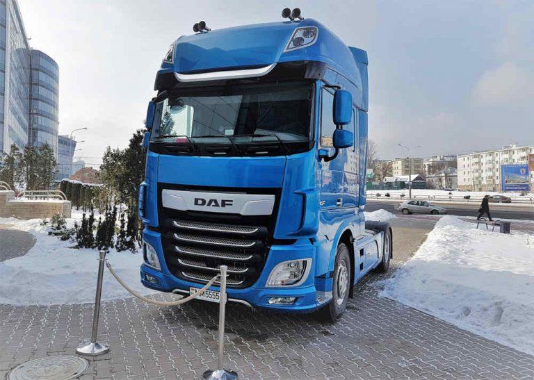 обновленный DAF XF Евро-6