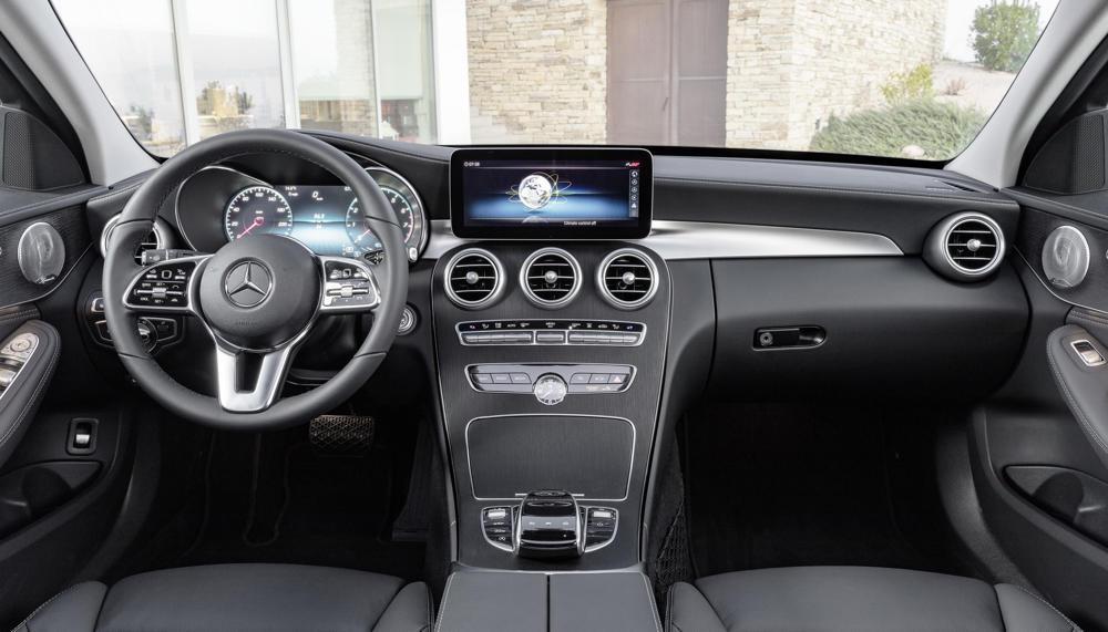 Mercedes С-класса дождался ресталинга