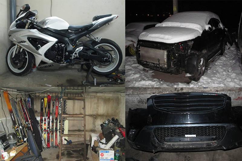 Задержаны трое минчан, подозреваемые в серии краж из гаражных кооперативов