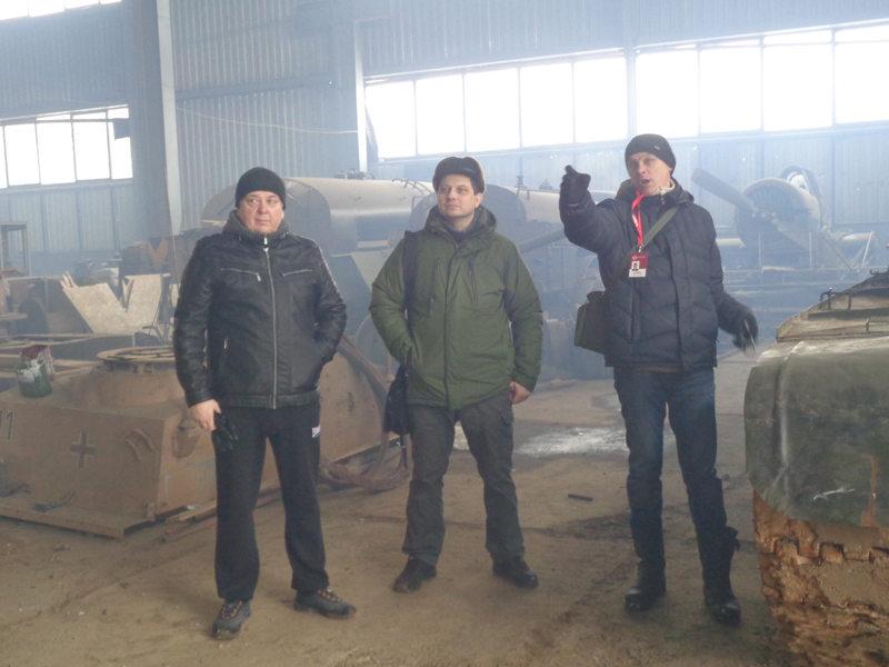 Борис Проказов проводит очередную экскурсию