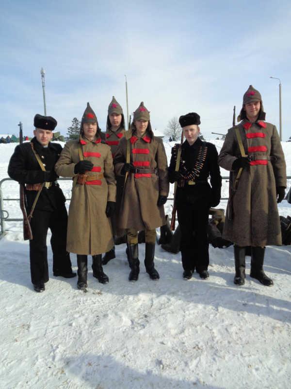 На «Линии Сталина» отметили День защитника Отечества и 100-летие Вооруженных Сил Беларуси