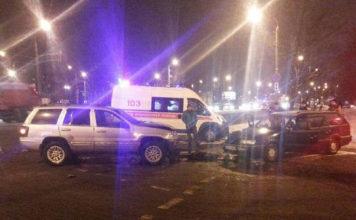 В Минске столкнулись Volkswagen и Jeep