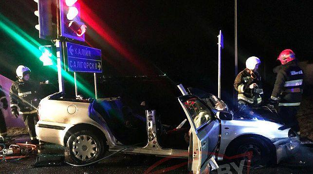В Солигорске в ДТП погибли два человека