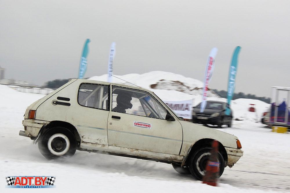 """3-ий этап соревнований по автослалому """"Зимнее Танго""""-2018"""