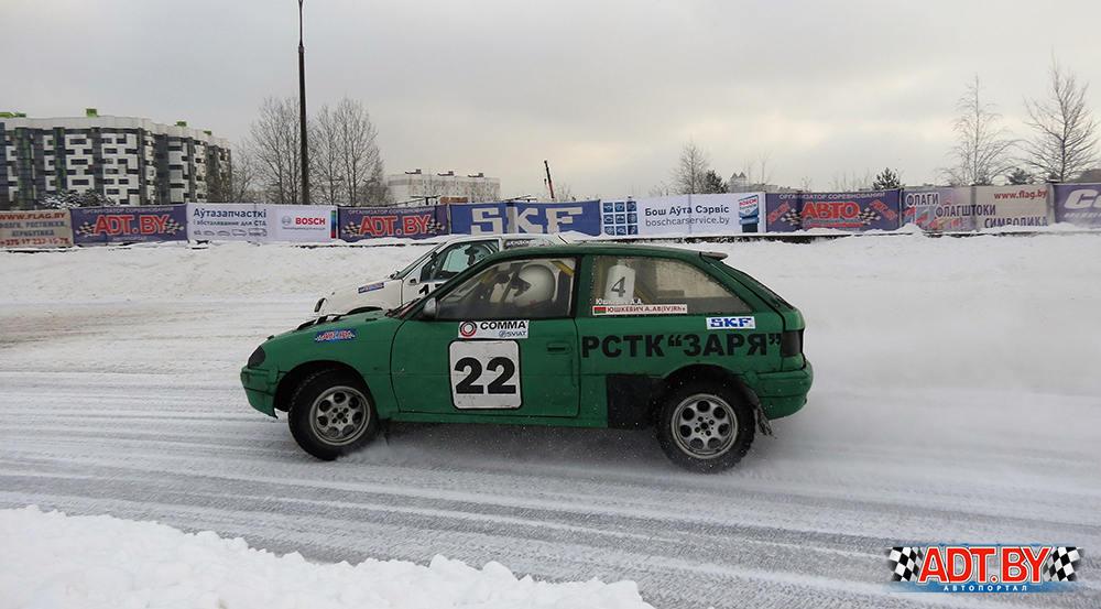"""3-ий этап по зимним трековым гонкам """"Горячий лед""""-2018"""