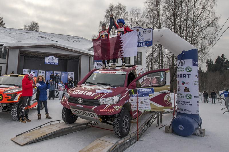 Дебютант из Катара стал победителем зимнего ралли-рейда