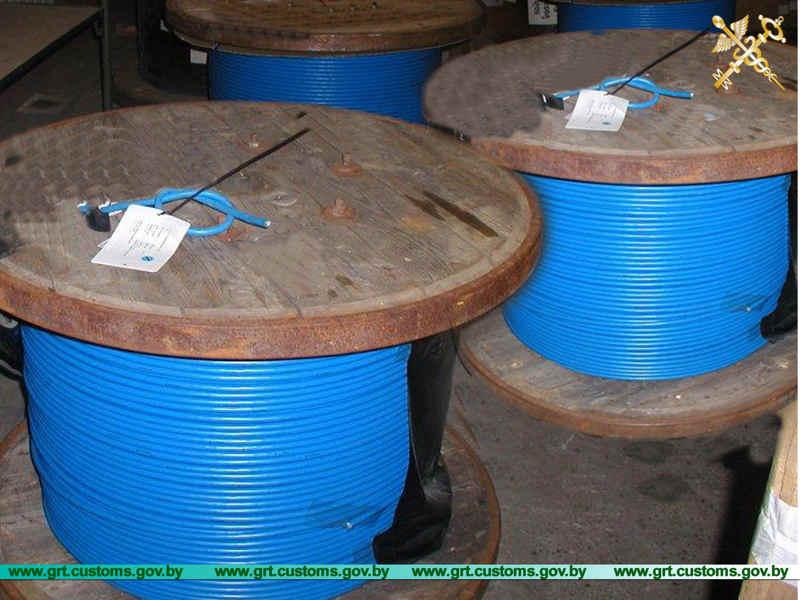 """В """"Берестовице"""" изъяли 5000 метров измерительного кабеля на 50 тыс. BYN"""