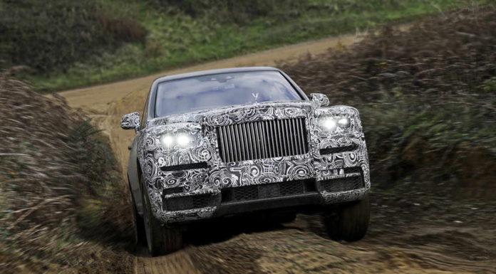 Стало известно название внедорожного Rolls Royce