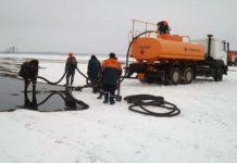 В Ивановском районепроизошла утечка из нефтепровода