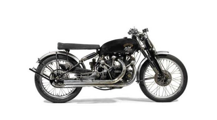 Мотоцикл Vincent Black Lightning 1951 года