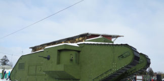 Макет танка Mk V