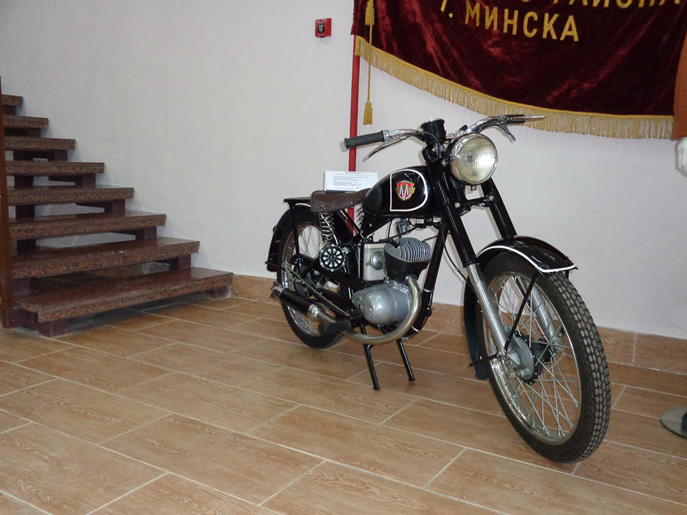 """Выставка """" МотоВелоМинск. Двухколесная история"""""""