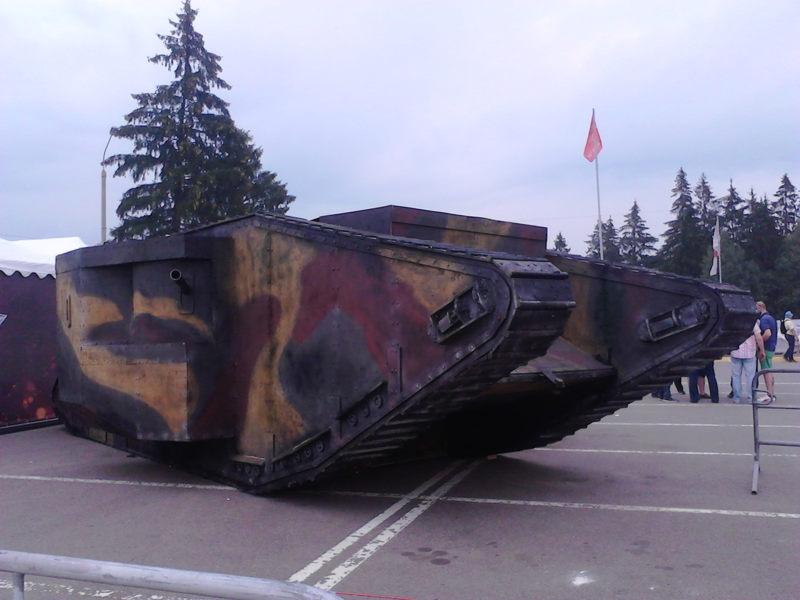 Макет танка Mk I
