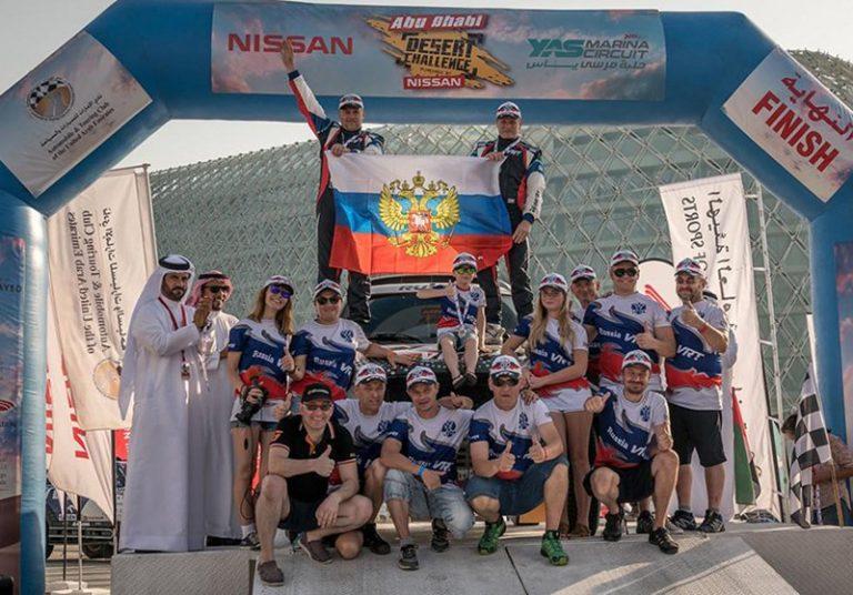 G-Energy Team: Васильев на подиуме этапа Кубка Мира в Эмиратах