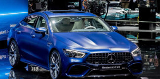 Mercedes-Benz представил в Женеве спортбек AMG GT 4-Door Coupe