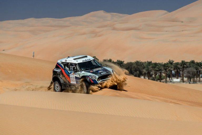 третий гоночный день в пустыне Руб-эль-Хали на Abu Dhabi Desert Challenge