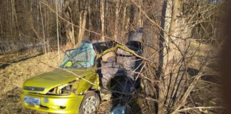 В Ивьевском районе в ДТП погибла женщина, четверо детей в больнице