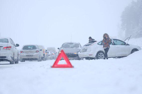В Минске и около города фиксируются ДТП и задержки транспорта