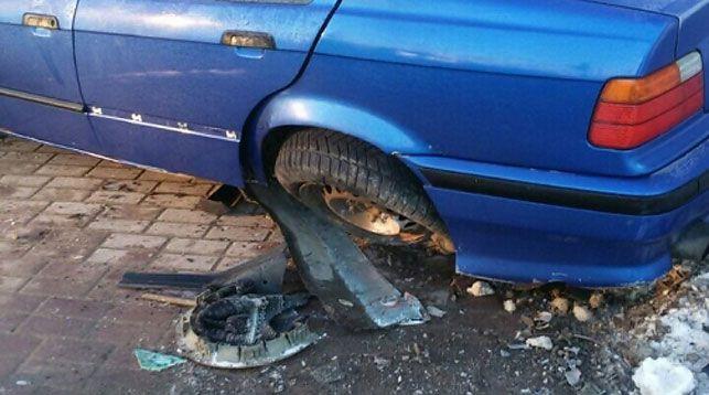 Пьяный бесправник на чужой машине спровоцировал погоню и ДТП в Гродно