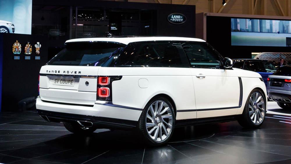 Range Rover — SV Coupe