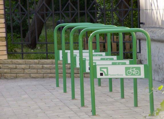 В Минске станет больше велопарковок