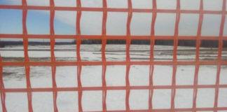 На автотрассе М1 украли 700 м снегозащитной сетки