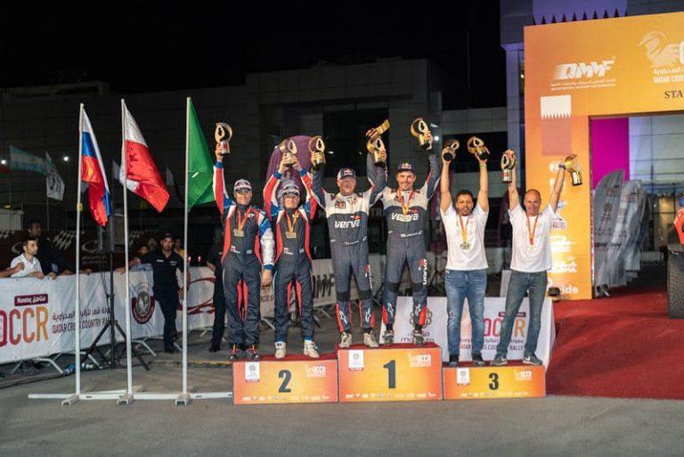Васильев второй в Qatar Cross Country Rally
