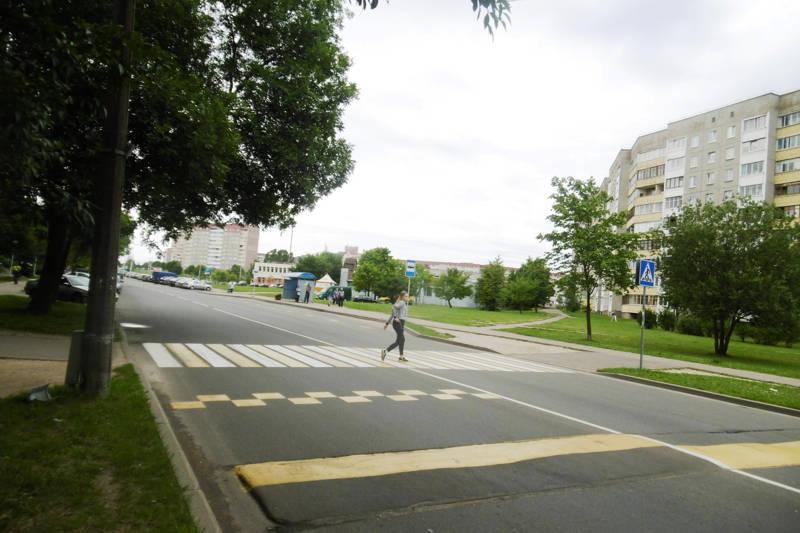 В Минске продолжаются мероприятия с участием пешеходов
