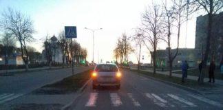 В Березовском районе на переходе Citroen сбил ребенка