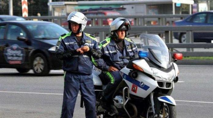 ГАИ начали патрулировать на мотоциклах