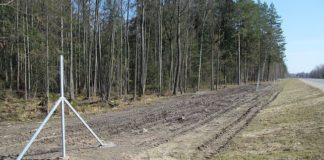 C трассы Минск-Гродно похитили 98 столбов