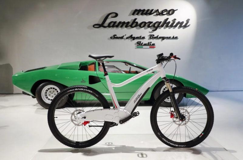 Lamborghini представил велосипед без цепи