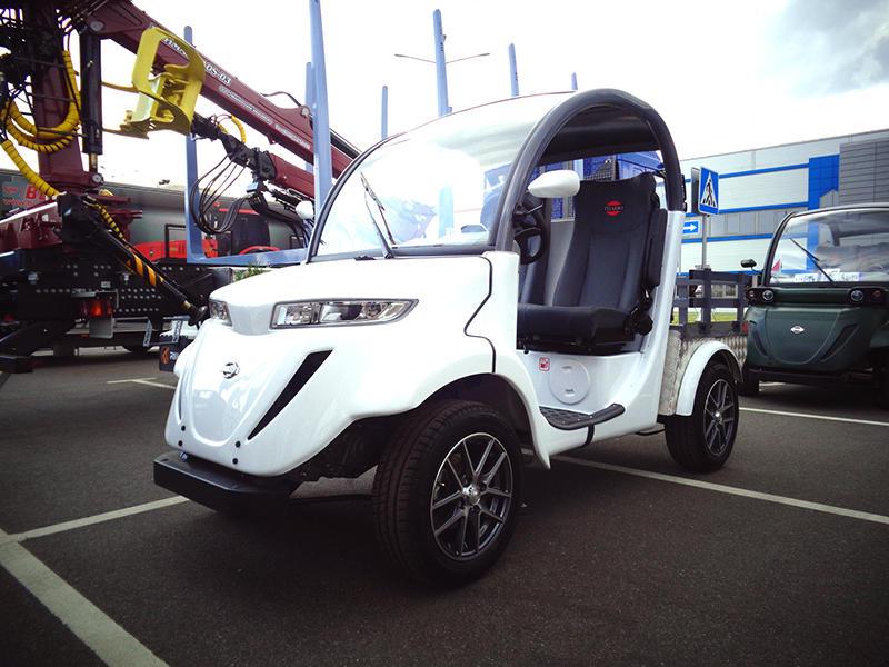 2-местный электромобиль TIGARBO