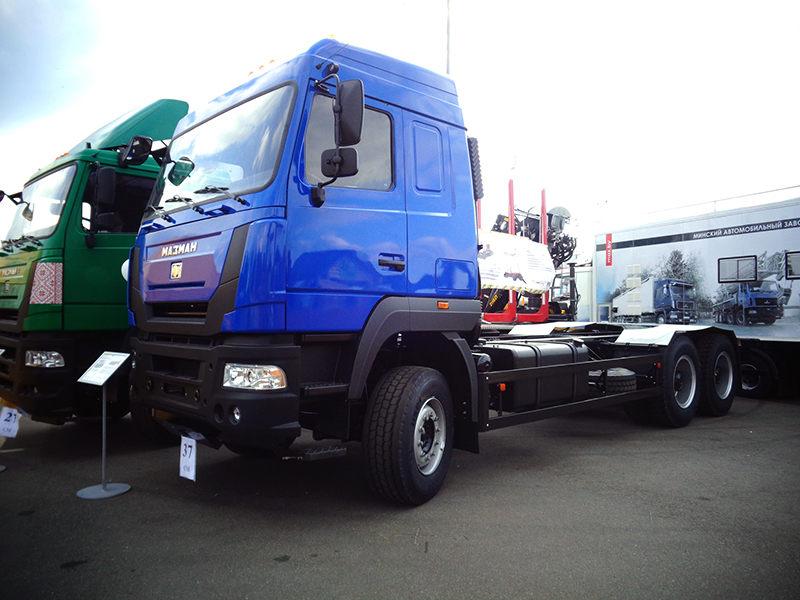 Новый седельный тягач МАЗ-МАН 642558